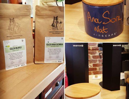 Nos cafés a la dégustation et a l'achat en paquets !!!
