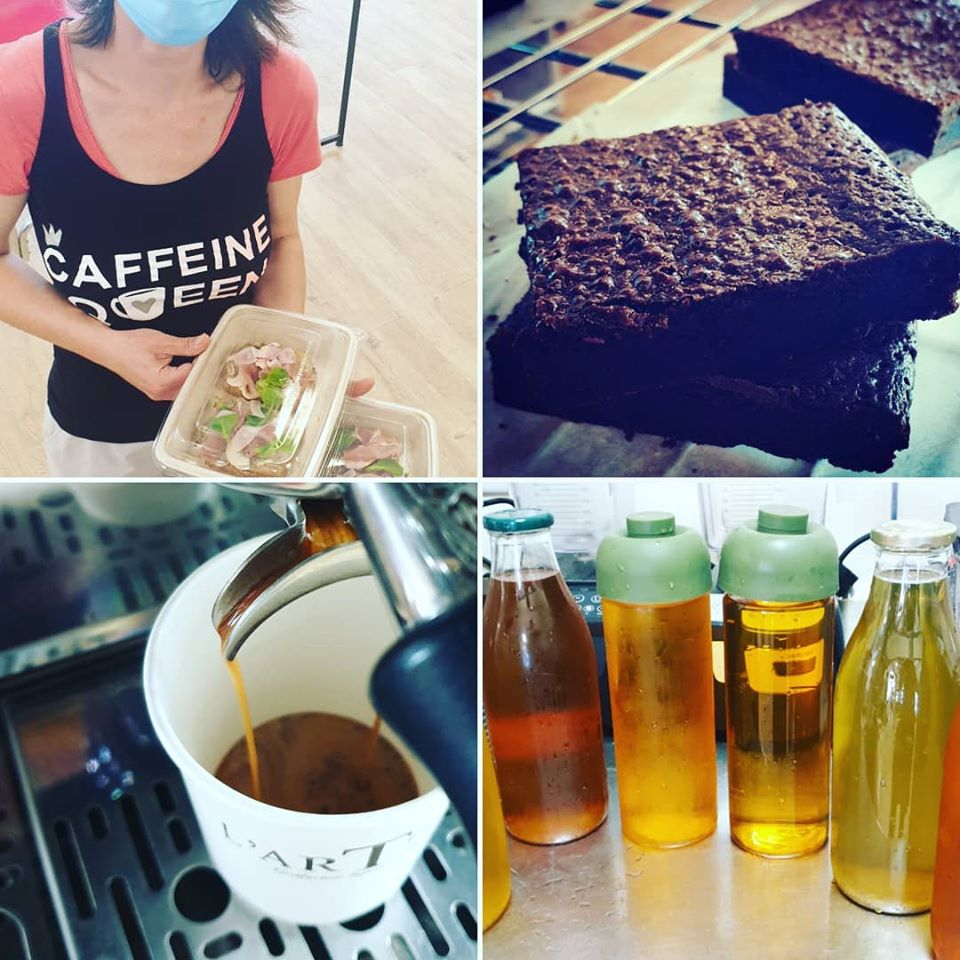le coffeeshop and Food l'artisanes thes cafes