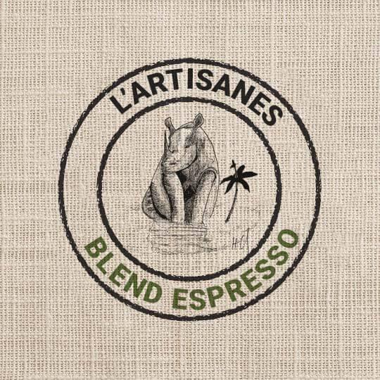 Blend Espresso - Lavé Nature - l'Artisanes