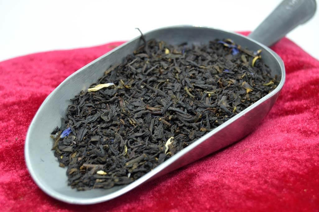 Colline bleutée - Thé noir parfumés Bio