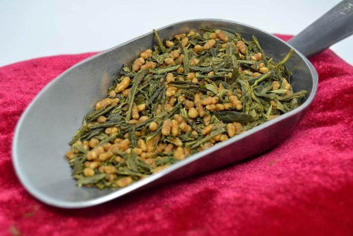 Genmaicha - Thé vert parfumés Bio