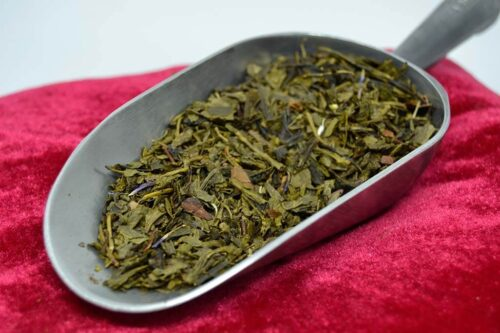 Moka des corons - Thé vert parfumés Bio