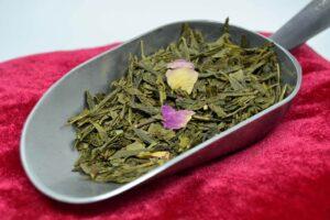 Rose - Thé vert parfumés Bio