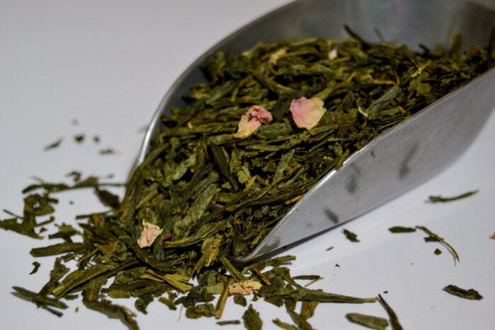 Thé Vert de Chine pétales de rose bio by L'Artisanes
